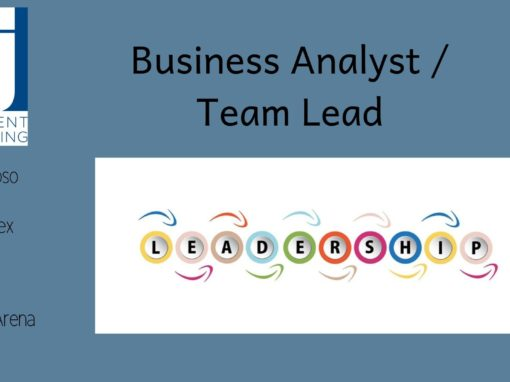 Business Analyst – Team Lead (Murex / Front Arena / Calypso ...