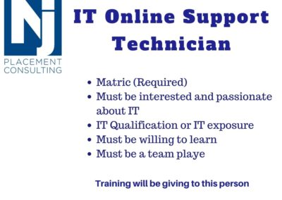 Online Support Technician